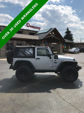 PRE-OWNED 2012 JEEP WRANGLER RUBICON 4WD