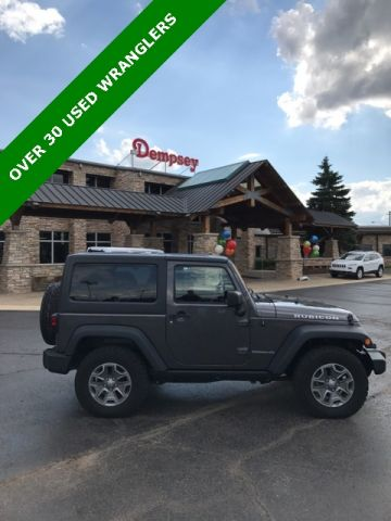 PRE-OWNED 2014 JEEP WRANGLER RUBICON 4WD