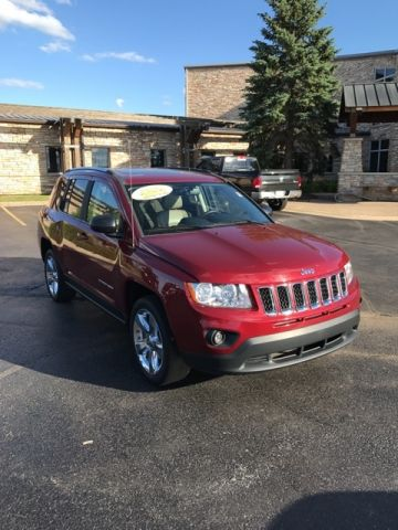 PRE-OWNED 2012 JEEP COMPASS LIMITED FWD 4D SPORT UTILITY