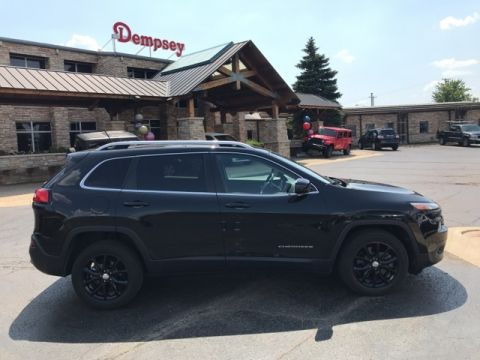 PRE-OWNED 2015 JEEP CHEROKEE LATITUDE FWD 4D SPORT UTILITY