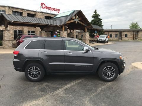PRE-OWNED 2017 JEEP GRAND CHEROKEE LIMITED 4WD
