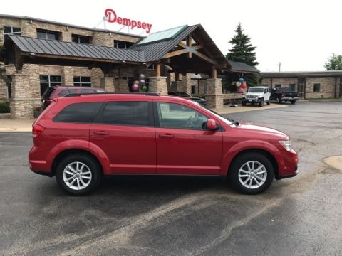 PRE-OWNED 2017 DODGE JOURNEY SXT FWD 4D SPORT UTILITY