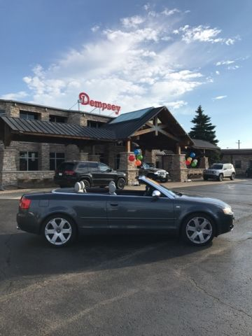 PRE-OWNED 2004 AUDI S4 BASE QUATTRO 2D CONVERTIBLE