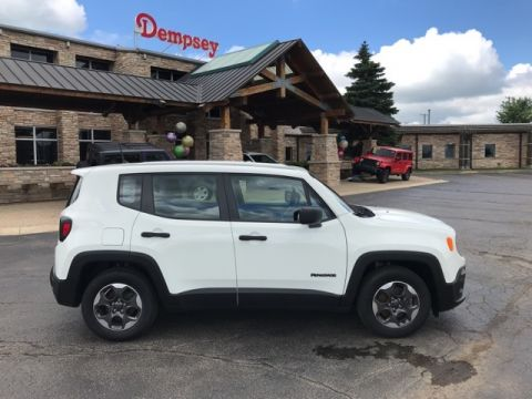 PRE-OWNED 2016 JEEP RENEGADE SPORT FWD 4D SPORT UTILITY